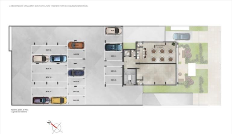 Ed. Residencial Manet - Apto 2 Dorm, Santana - Foto 4
