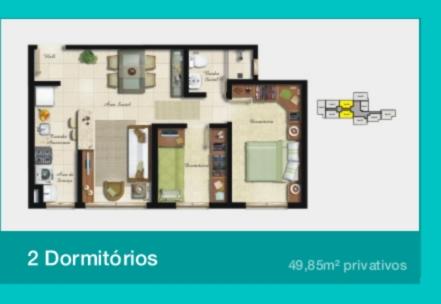 Urbano Station - Apto 2 Dorm, Azenha, Porto Alegre (58710) - Foto 12