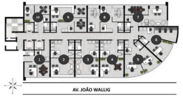 Condomínio Hom João Wallig - Sala, Passo da Areia, Porto Alegre - Foto 3