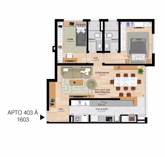 Everest Tower Residence - Apto 3 Dorm, Centro, Esteio (60191) - Foto 8