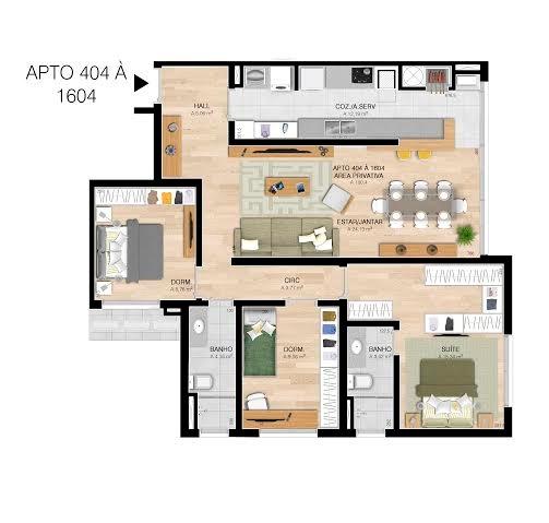 Everest Tower Residence - Apto 3 Dorm, Centro, Esteio (60191) - Foto 11
