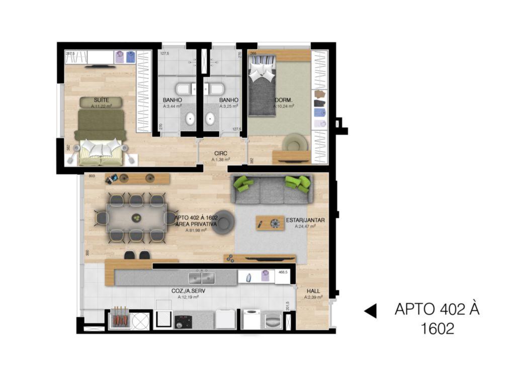 Everest - Apto 2 Dorm, Centro, Esteio (61419) - Foto 2