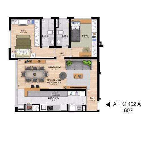 Everest - Apto 3 Dorm, Centro, Esteio (61422) - Foto 7