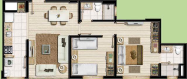 Nilo Home Square - Apto 3 Dorm, Boa Vista (61972) - Foto 3