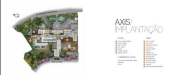 Axis - Sala 1 Dorm, Petrópolis, Porto Alegre (62431) - Foto 7