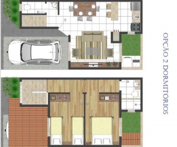 Ducati Imóveis - Casa 2 Dorm, Jardim Carvalho - Foto 9