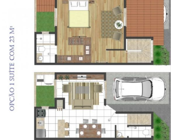 Ducati Imóveis - Casa 2 Dorm, Jardim Carvalho - Foto 10
