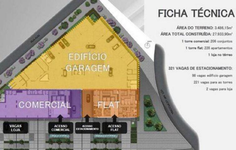 Duo Concept Hotel - Flat 1 Dorm, Cidade Baixa, Porto Alegre (78371) - Foto 3