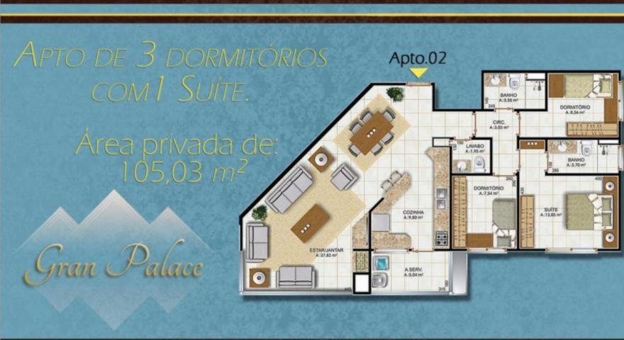 Gran Palace - Apto 3 Dorm, Centro, Canoas (81516) - Foto 3
