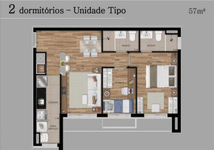 FWD - Apto 2 Dorm, Central Parque, Porto Alegre (81609) - Foto 9