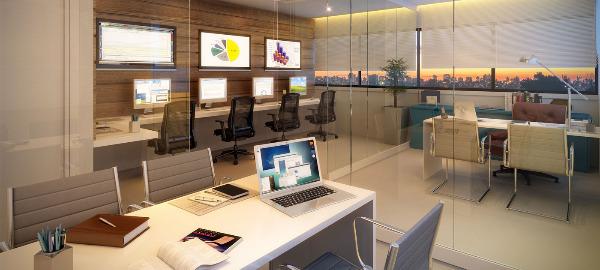 Murano Office - Sala, Cristal, Porto Alegre (94813) - Foto 2