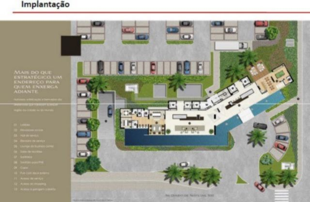 Residencial Du Lac - Apto 1 Dorm, Cristal, Porto Alegre (35466) - Foto 4