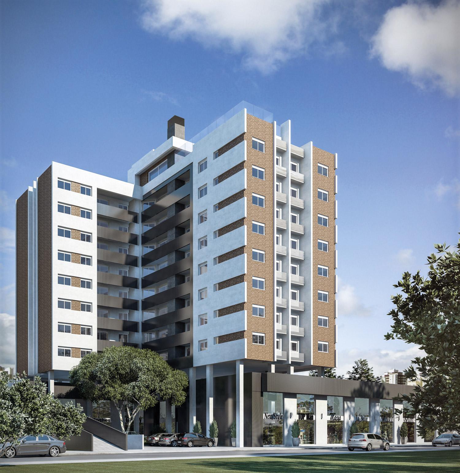 Quartier Apartments - Apto 3 Dorm, Centro, Canoas (108551) - Foto 3