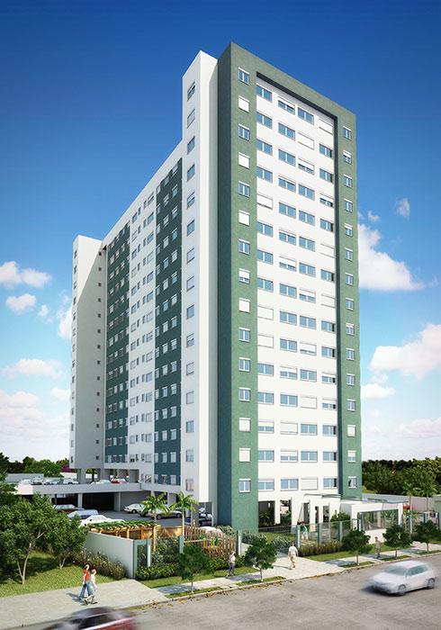Urbano São Luiz Torre á - Apto 2 Dorm, Santana, Porto Alegre (63743)