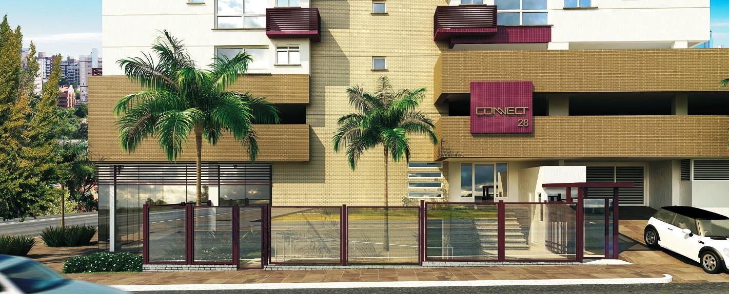Connect - Apto 1 Dorm, Menino Deus, Porto Alegre - Foto 2