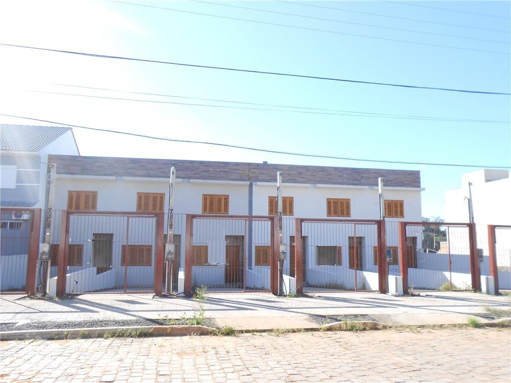 BARBADA  excelente sobrado, novo desocupado com 2 dormitórios, suíte, living para 2 ambientes, copa, cozinha, área de serviço, pátio, vaga para dois carros. Só R 230mil Ac. Financiamento