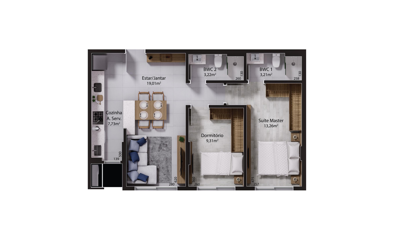 Imagem Apartamento 303 a 1203 - Torre I.jpg