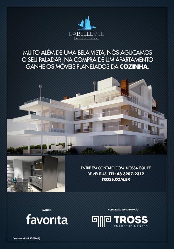 Apartamentos de 3 dormitórios em Canasjure, Florianopolis - SC