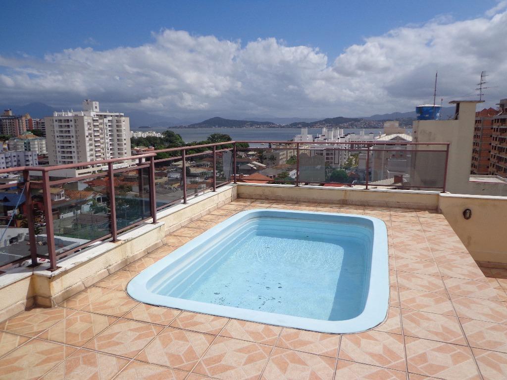 Coberturas de 3 dormitórios à venda em Abraao, Florianopolis - SC