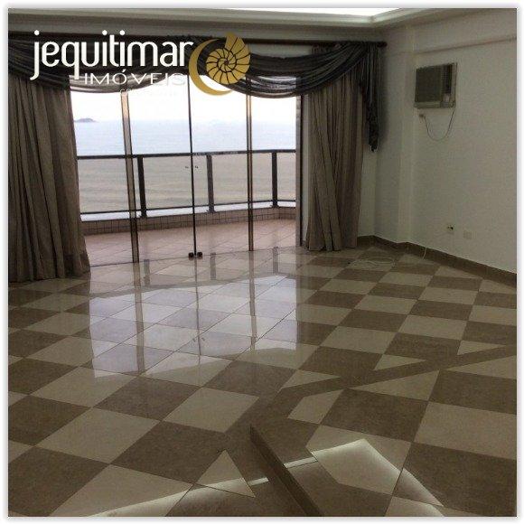 Apartamento Frente ao Mar Astúrias Guarujá