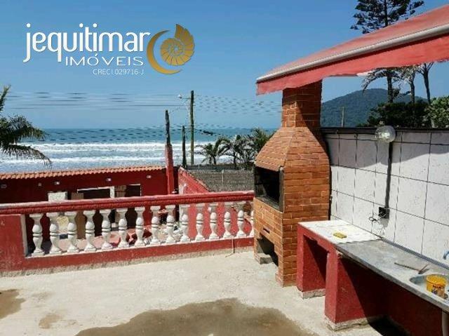 Casa Frente ao Mar Praia do Perequê Guarujá