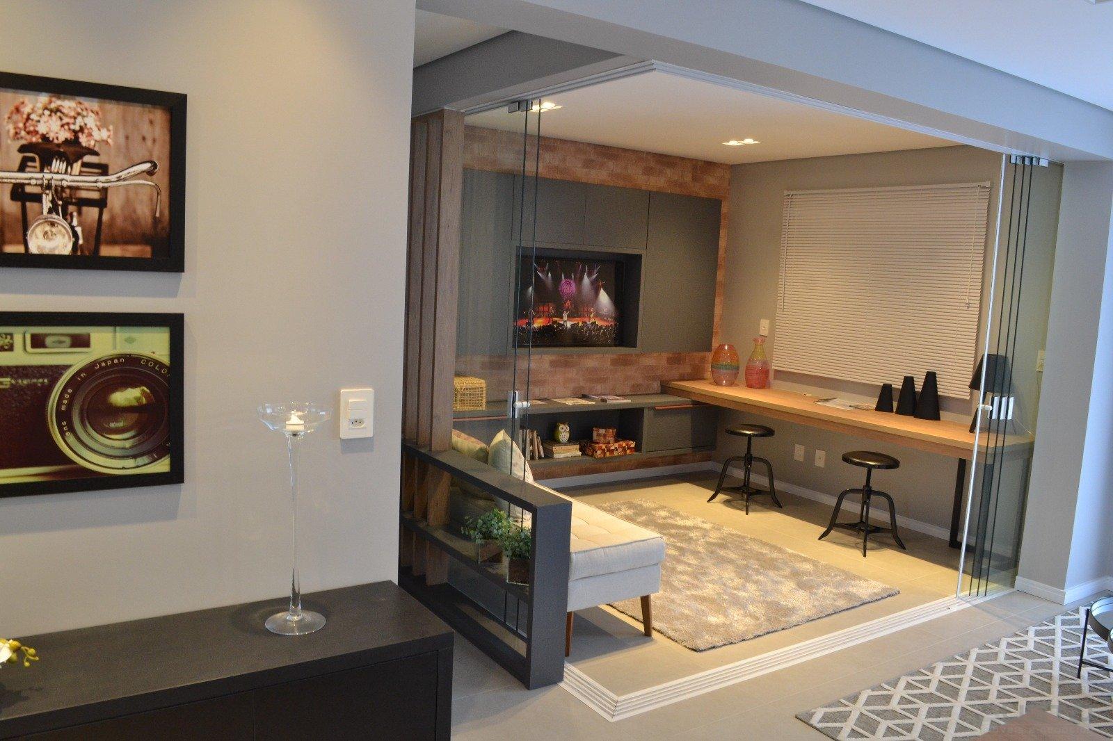 08 - Apartamento Decorado - Sala TV