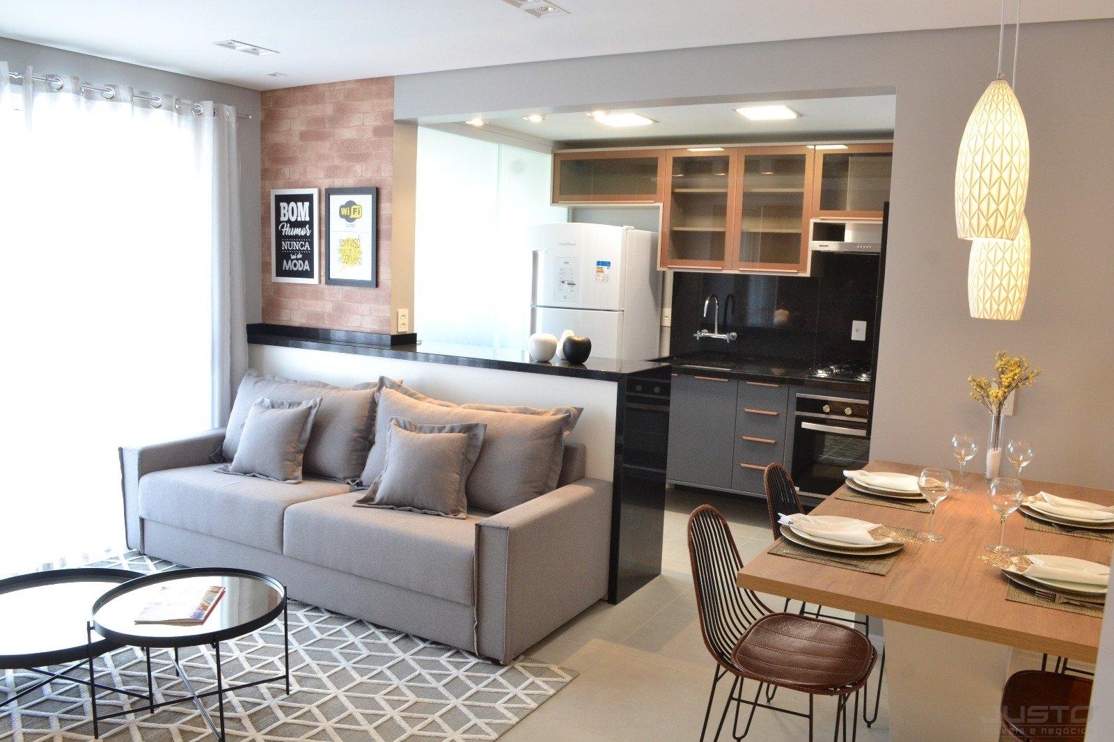 09 - Apartamento Decorado - Sala/Cozinha