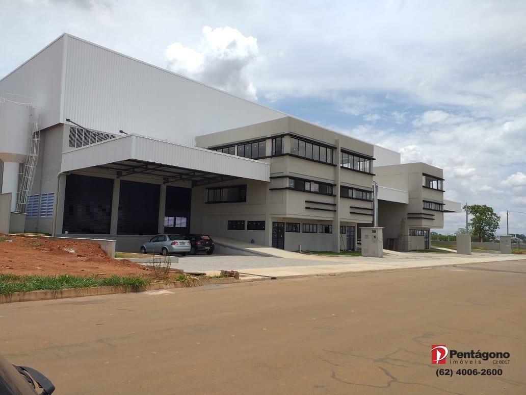 Galpão com 910 m² no All Park Polo Empresarial