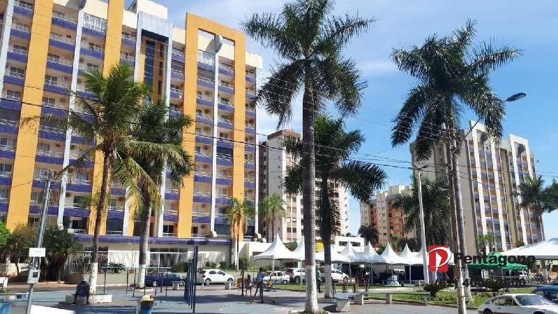 Flat mobiliado em Caldas novas no setor Turista I