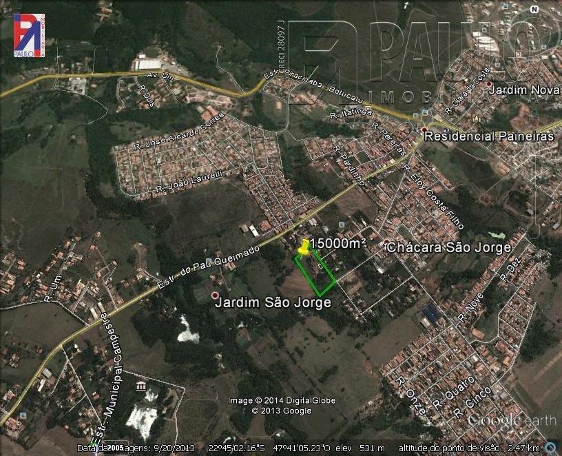 Área São Jorge Piracicaba