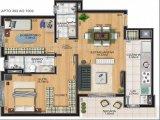 Apartamento em Caxias Do Sul | Residencial Alicante | Miniatura