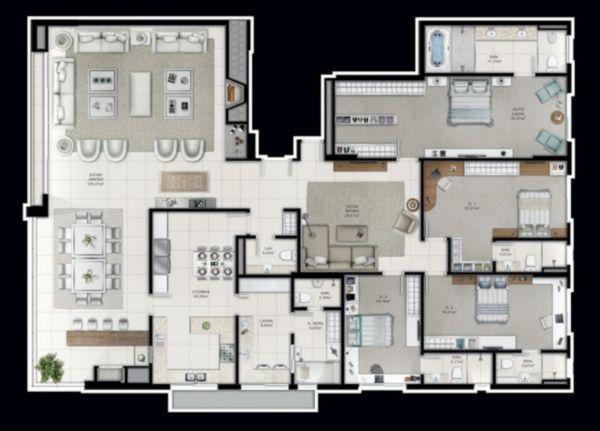 Apartamento em Caxias Do Sul | Reserva Casa Rosa