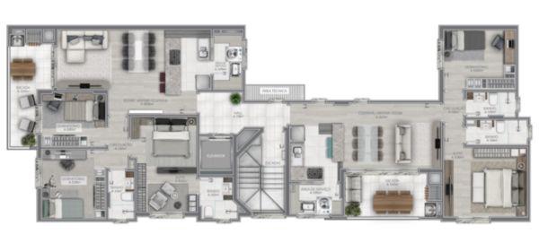 Apartamento em Caxias Do Sul   Resid San Roman