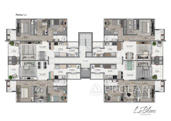 Apartamento em Caxias Do Sul | Le Blanc