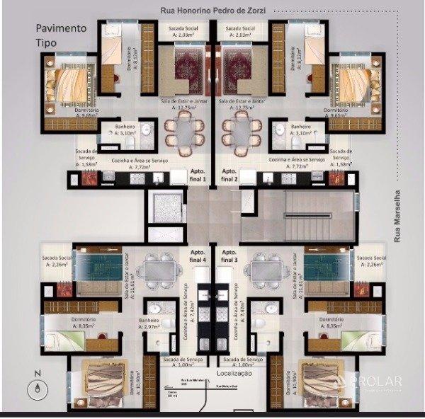 Apartamento em Caxias Do Sul | Residencial New Step
