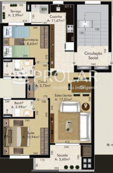 Apartamento em Caxias Do Sul | Residencia Camberra