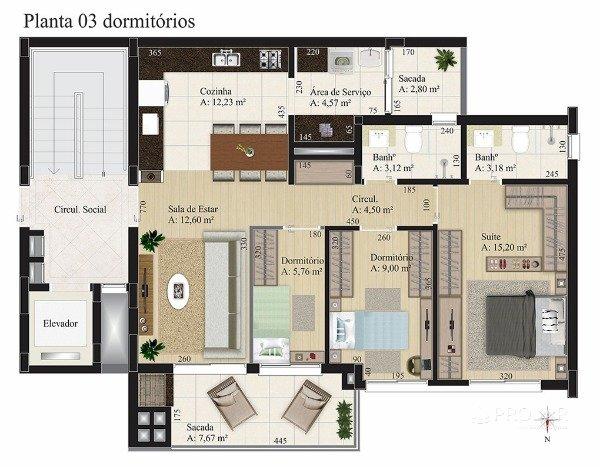 Apartamento em Caxias Do Sul | Sorano Residence