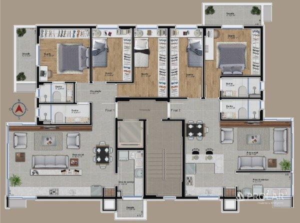 Apartamento em Bento Gonçalves   Alamo Square