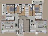 Apartamento em Bento Gonçalves   Alamo Square   Miniatura