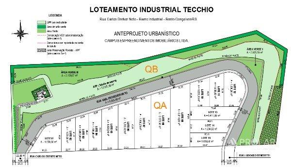 Terreno em Bento Gonçalves | Terreno - Loteamento Industrial Tecchio