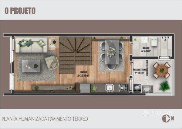 Sobrado em Caxias Do Sul | Residencial Távora