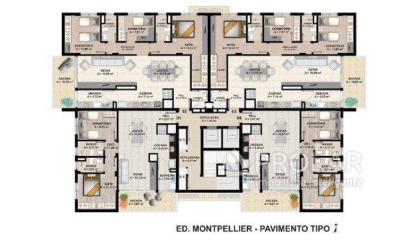 Apartamento em Bento Goncalves   Edifício Montpellier