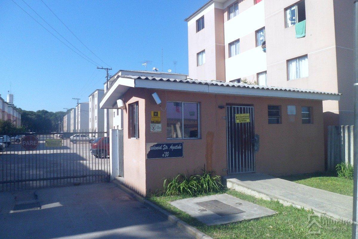 REF. 6601 -  São José Dos Pinhais - Rua  Maria Paulina Pereira, 30 - Apto 31 - Bl 4b