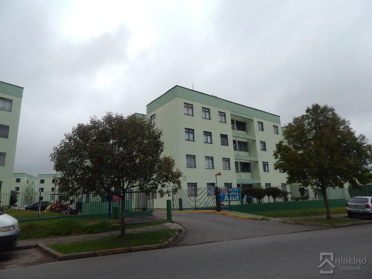 REF. 6677 -  São José Dos Pinhais - Rua  Tenente Djalma Dutra, 4017 - Apto 12 - Bl 06