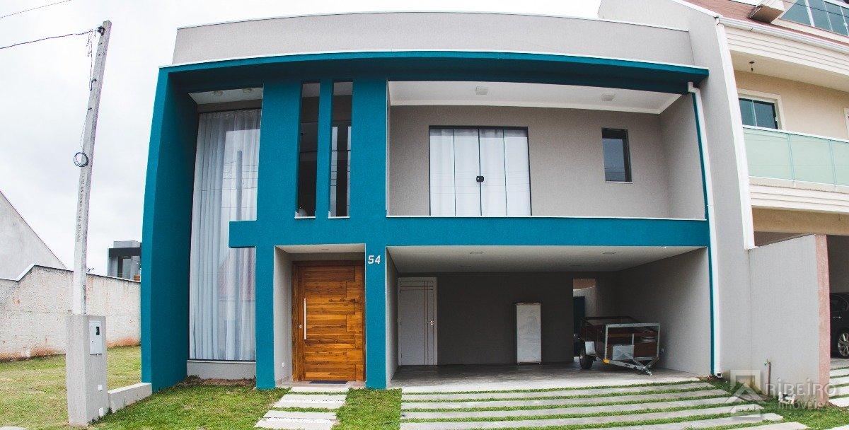 REF. 7175 -  São José Dos Pinhais - Travessa  Luziano Cordeiro, 1050 - Casa 54