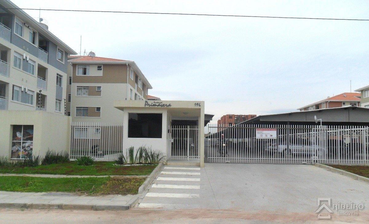 REF. 7350 -  Sao Jose Dos Pinhais - Rua  Santa Rita, 196 - Apto 14 - Bl 02