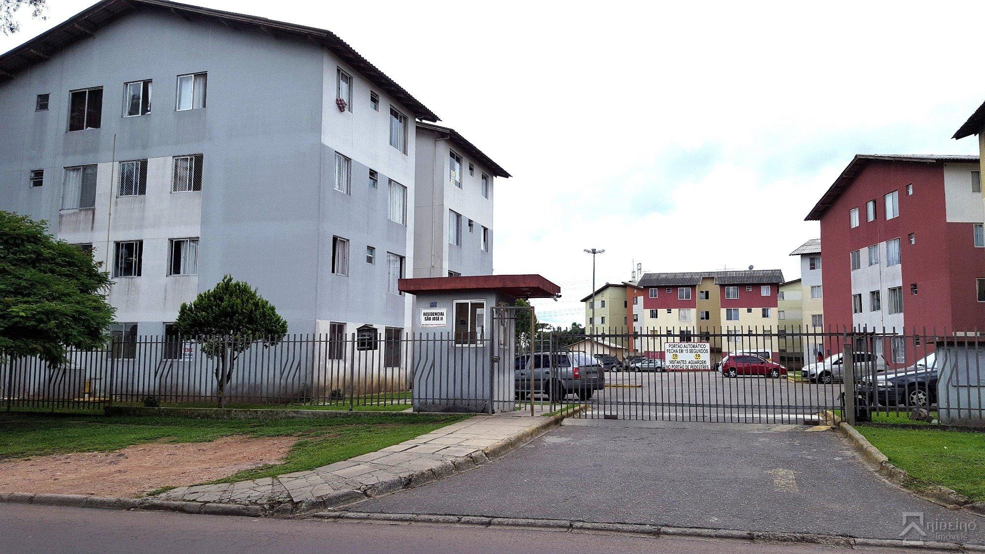REF. 7382 -  Sao Jose Dos Pinhais - Rua  Anneliese Gellert Krigsner, 3033 - Apto 04 - Bl C