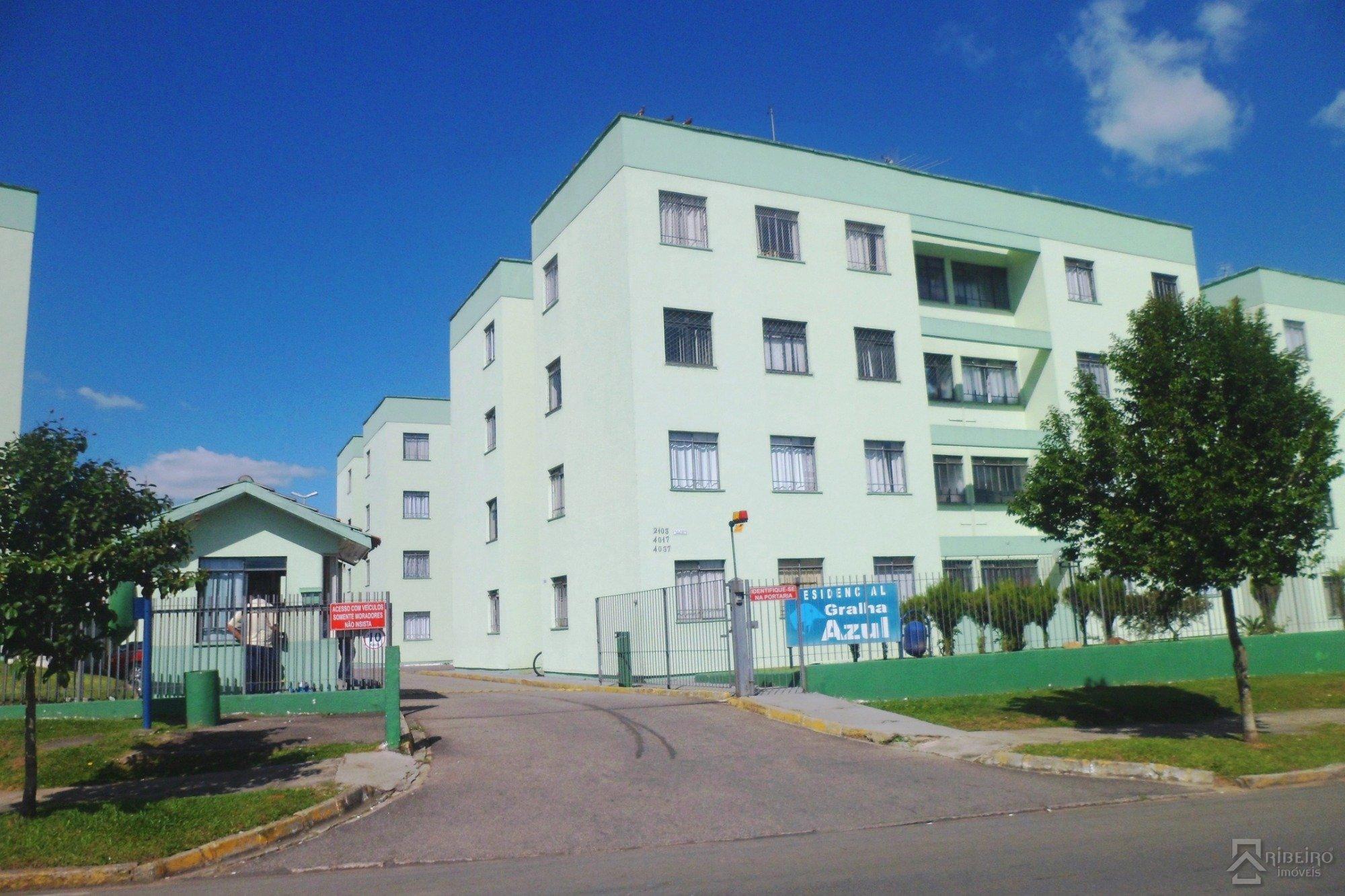 REF. 7425 -  Sao Jose Dos Pinhais - Rua  Tenente Djalma Dutra, 4017 - Apto 02 - Bl 03