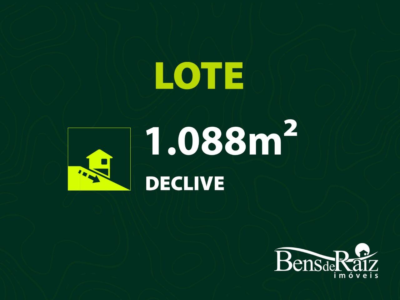 Lotes em Condomínio de 1.088m², à venda