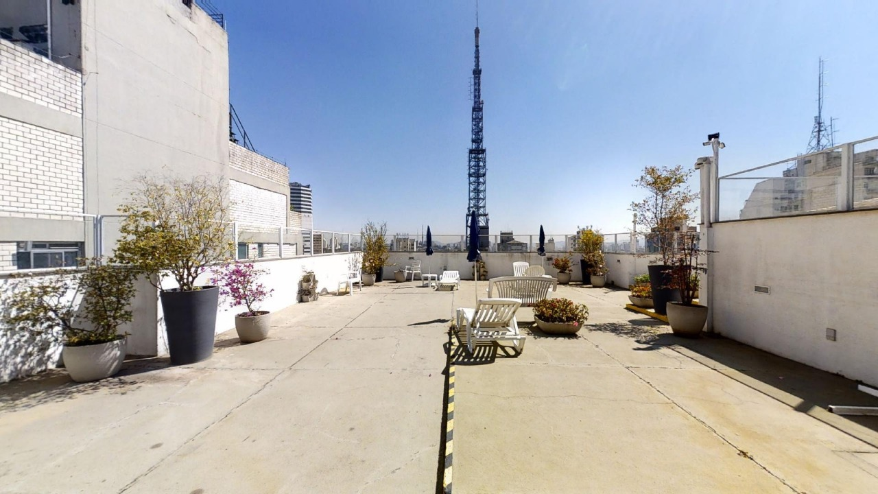 Rooftop Cobertura Área Comum - Solarium